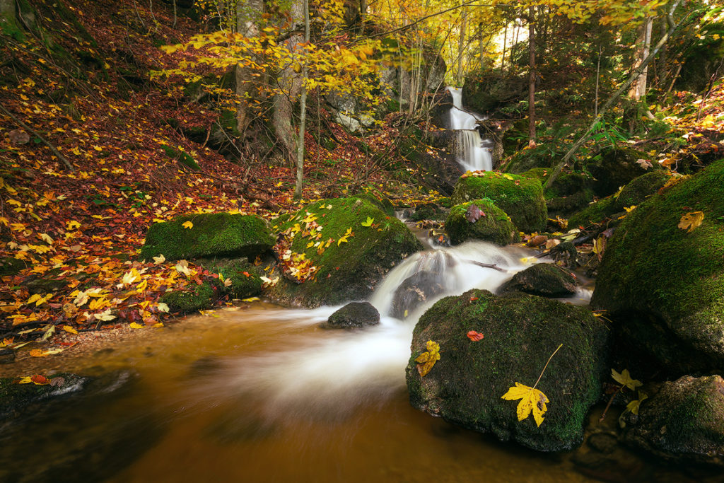 photograph charming waterfalls ysperklamm
