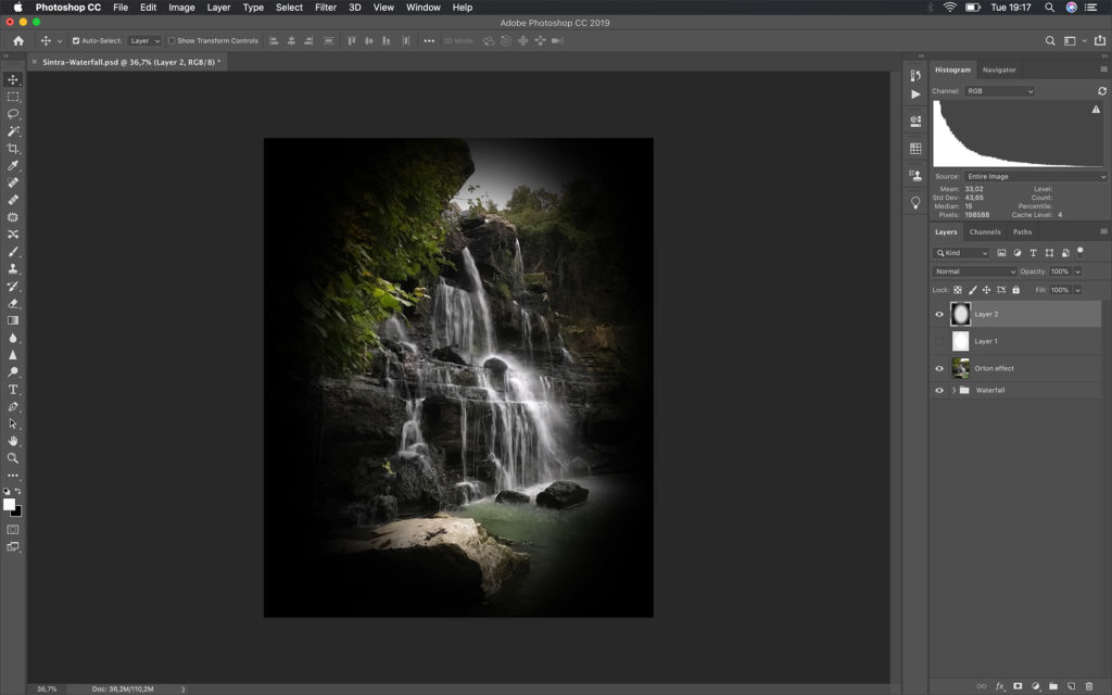 process waterfall photos