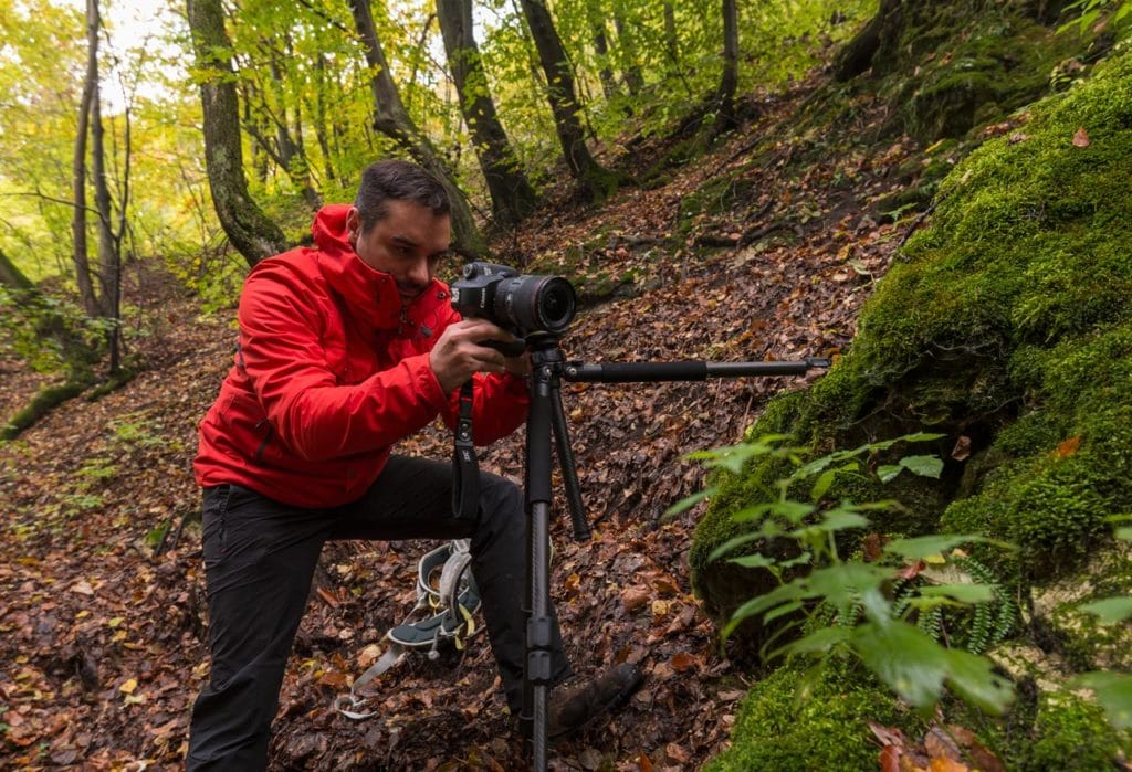 use a tripod for landscape photography