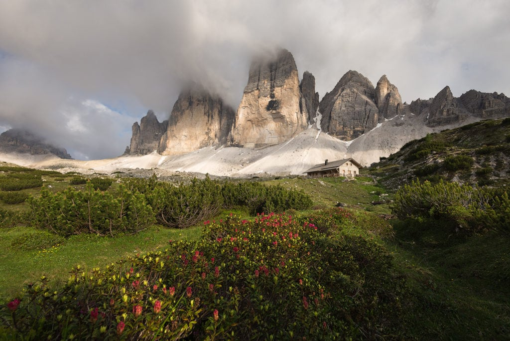 breathtaking dolomites scenery