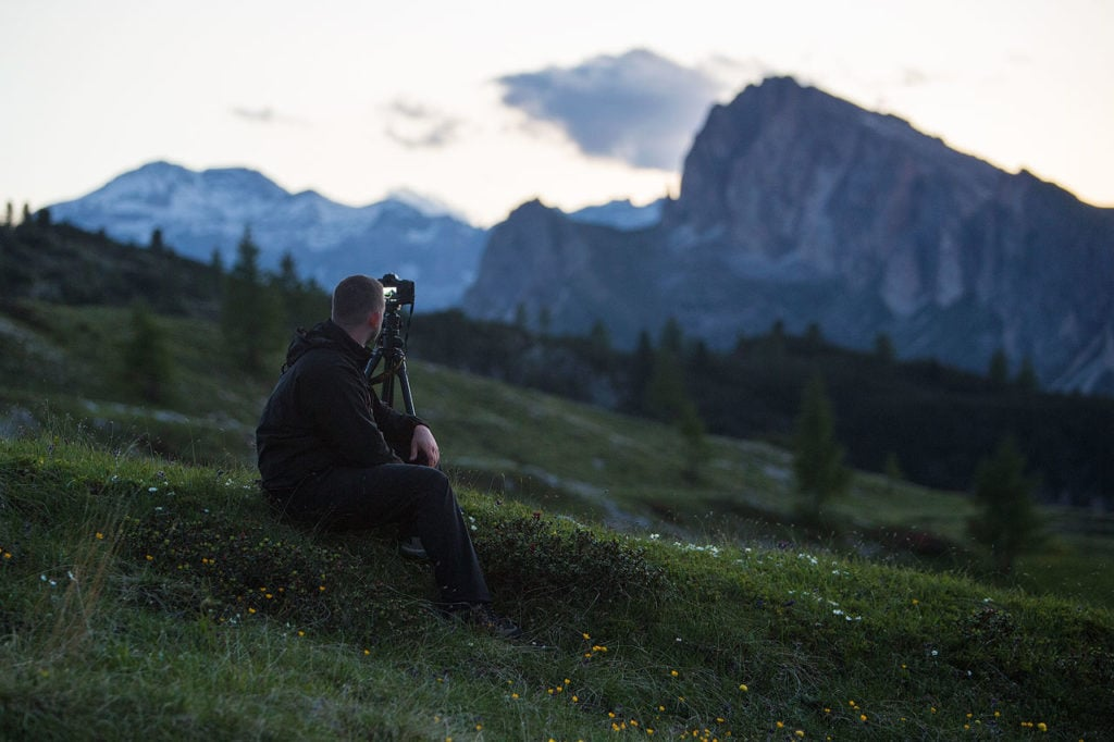 be patient in landscape photography