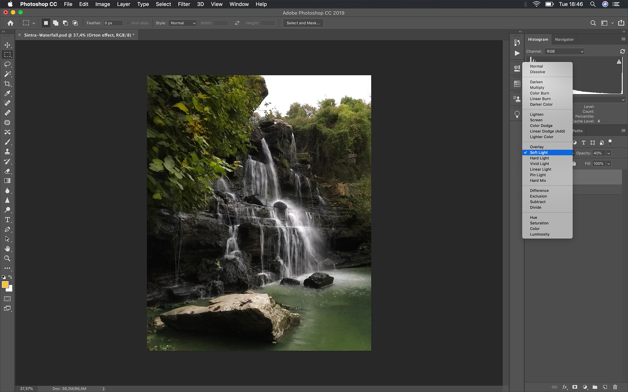 How to Process Waterfall Photos – Mobile Photography
