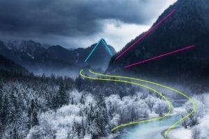 Landscape composition techniques